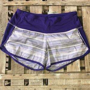 Lululemon Striped Shorts